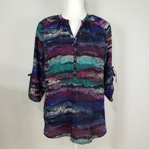 Yumi Kim Multi color print Blouse